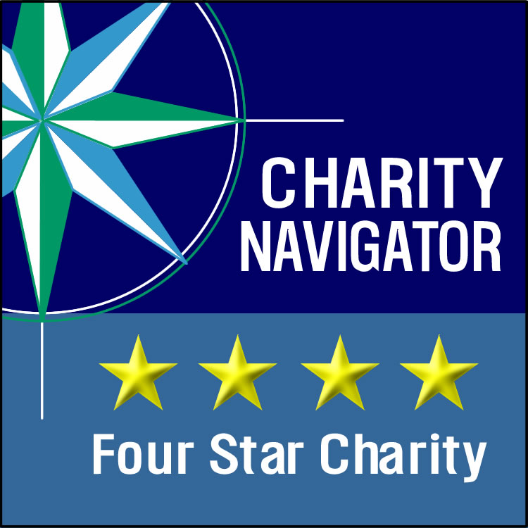 Logo: Charity Navigator Four Star Charity